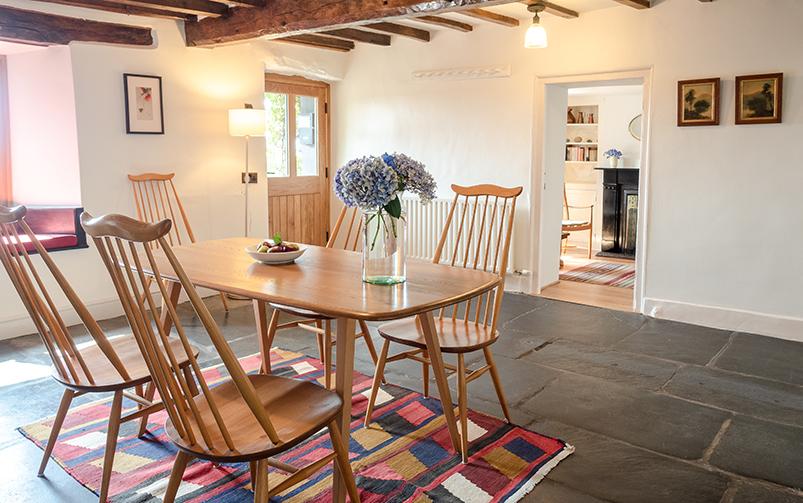 Wayside Cottage dining room